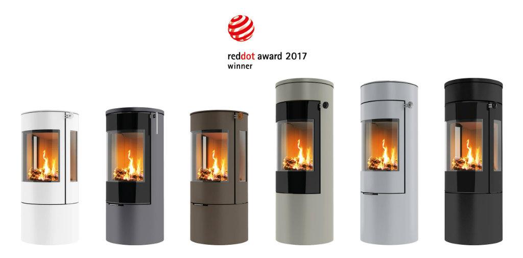 Authorised dealer Danish Rais wood burning stoves Red Dot award